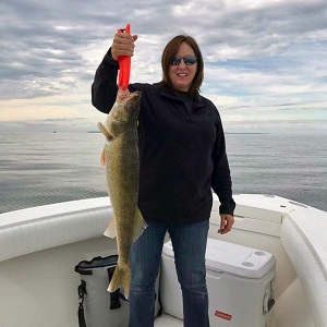 First Mate Stacie - Lake Erie Fishing Charters